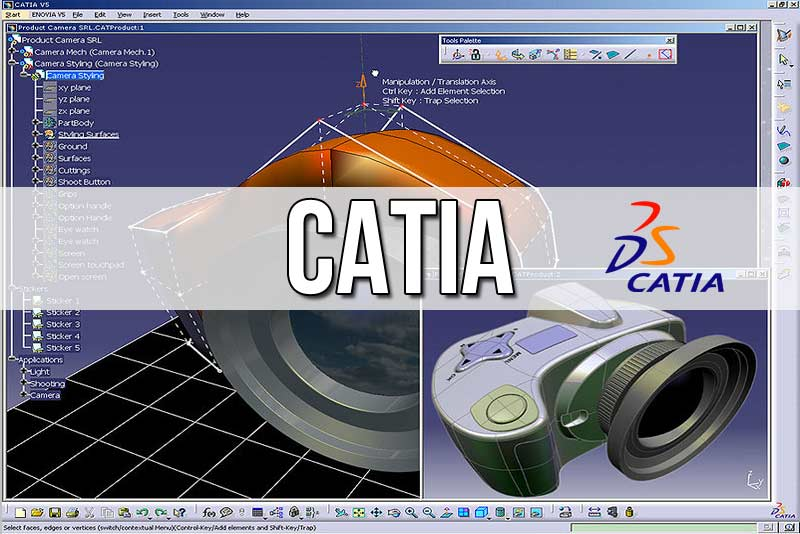 Programmes de formation CAO / CATIA - base - assemblage - surfacique -avancé - tolerie - VisualBasic